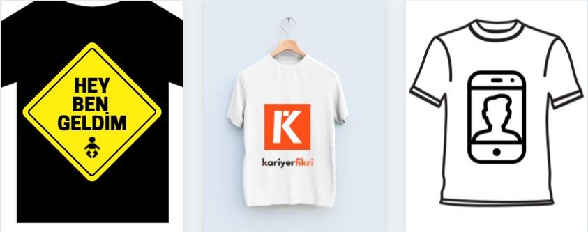tişört tasarlar